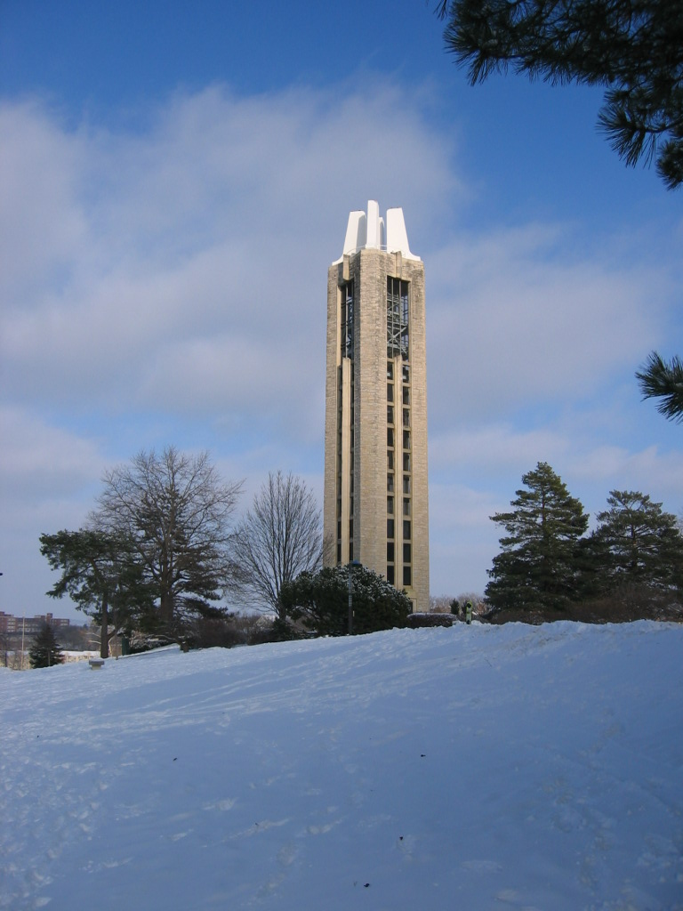 [Memorial Campanile, the University of Kansas, Lawrence, Kansas]